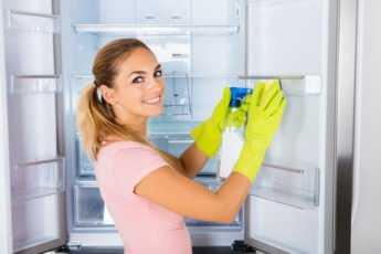 Как часто чистить холодильник