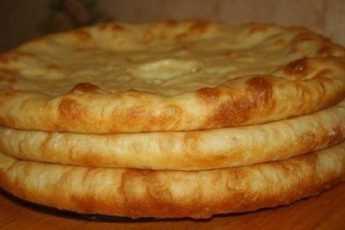 Плацинды с картофелем и сыром по-грузински
