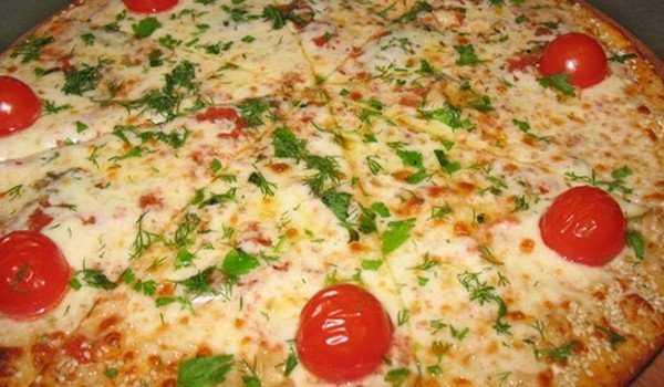 Быстрая домашняя пицца за 15 минут
