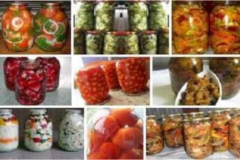 ТОП-9 вкуснейших рецептов для зимних заготовок