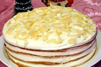 Торт «Экономический кризис» на кефире с яблочным пюре