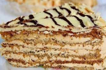 Нежнейший торт «Эстерхази»