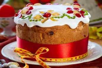 8 рецептов традиционных и необычных куличей на любой вкус